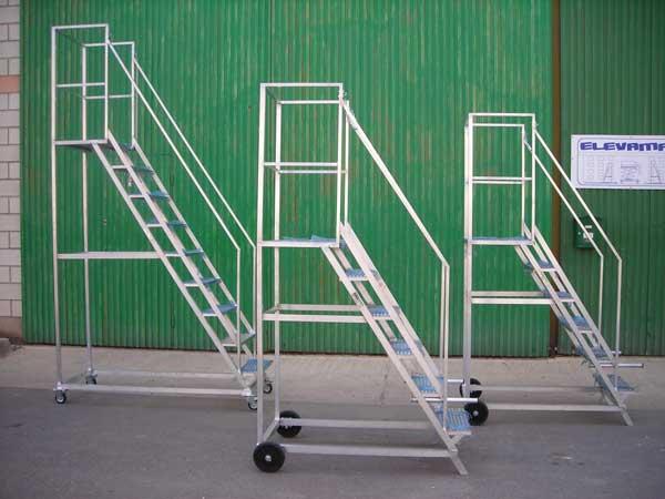 Escaleras aluminio metalicas industriales genuardis portal for Escalas metalicas